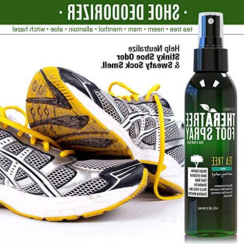 TheraTree Foot for with Tree, MSM & Menthol for Soothing Skin