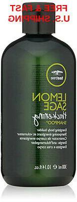 THICKENING Shampoo Tea Tree Lemon Sage Detoxify Volumize Plu