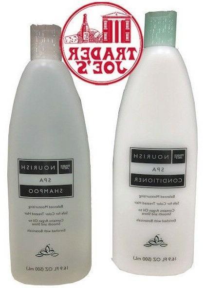trader joe s nourish spa shampoo