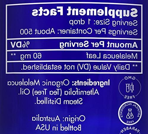 Zongle Melaleuca Safe Ingest, Alternifolia, 1 oz