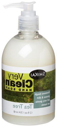 Shikai Very Clean Liquid Hand Soap Tea Tree -- 12 fl oz by S