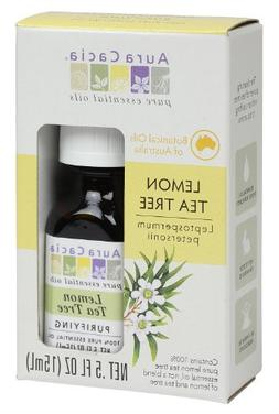 Aura Cacia Lemon Tea Tree, .5 fl oz