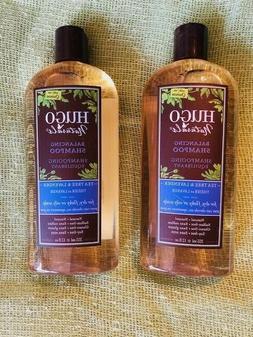 Lot of 2 Hugo Naturals Balancing Shampoo Tea Tree & Lavender