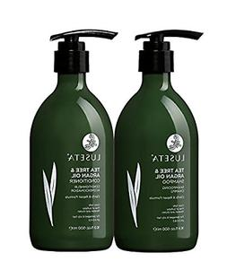 Luseta Tea Tree & Argan Oil Detangling Shampoo & Conditioner
