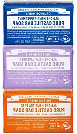 Dr. Bronner's Magic Soaps Pure-Castile Soap, Variety Pack, 5