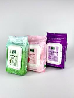 Makeup Remover Cleansing Facial Towelettes Wipes 90-CT Collo