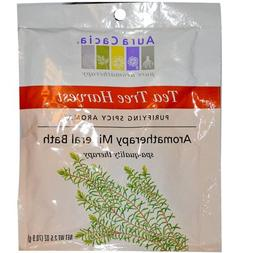 Aura Cacia Mineral Bath Tea Tree Harvest -- 2.5 oz