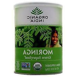 Organic India Moringa Leaf Powder, 8 Ounce -- 1 each.