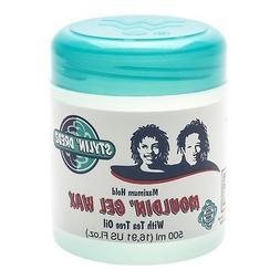 Stylin' Dredz Moulding Gel Wax with Tea Tree Oil Hair Care 5