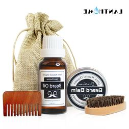 Lanthome Natural Beard Balm and Oil Leave-In <font><b>Condit