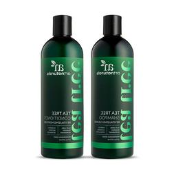 Tea Tree Shampoo & Conditioner Duo  Softens w/ Aloe Vera - 1