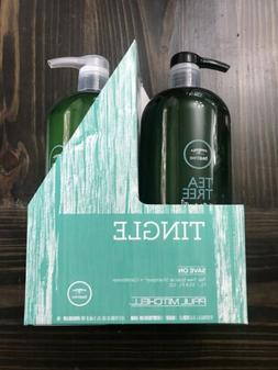 NEW 2PC SET Duo Paul Mitchell Tea Tree Hair Special Conditio
