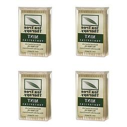 NEW TEA TREE THERAPY MENTHOL TOOTHPICKS, 100 COUNT