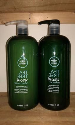 **NEW** Paul Mitchell Tea Tree  Shampoo Conditioner 33.8 oz