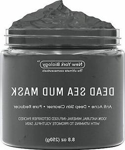 New York Biology Dead Sea Mud Mask for Face and Body - Natur