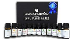 Ultimately Essential Oils Top 10 Gift Set Kit 10ml 2 Empty 2