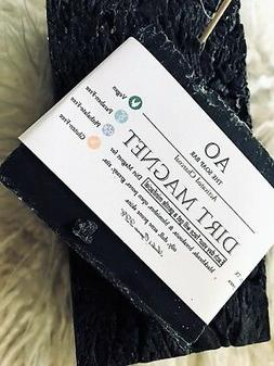 Organic Activated Charcoal Peppermint Tea Tree Soap Bar Acne
