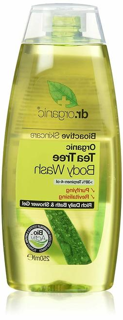 ORGANIC BIOACTIVE SKINCARE  ORGANIC TEA TREE BODY WASH  8.5
