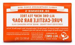 Dr. Bronner's Organic Pure Castile Bar Soap - Tea Tree - 5 o