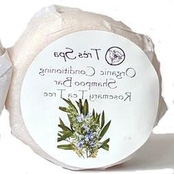 Organic Conditioning Shampoo by Très Spa | Solid Shampoo Ba