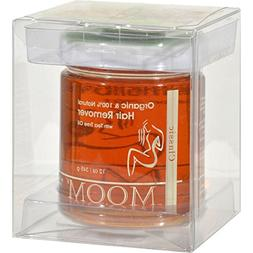 2 Pack of Moom Organic Hair Removal with Tea Tree Refill Jar
