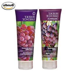 Desert Essence Organics Italian Red Grape Shampoo & Conditio