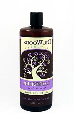 Dr. Woods Organic Liquid Castile Soap Lavender, 32 Fl Ounce