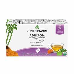 Miracle Tree - Organic Moringa Superfood Tea, 25 Individuall