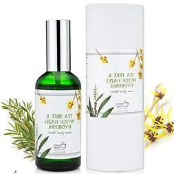 TEA TREE WITCH HAZEL FACE TONER - Natural & Organic Ingredie