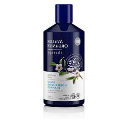 Avalon Organics Tea Tree Mint Scalp Normalizing Shampoo, 14