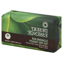 2 Packs of Desert Essence Bar Soap - Tea Tree Therapy - 5 Oz