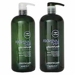 Paul M Shampoo and Conditioner Liter Duo - Lavender Mint