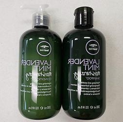 Paul M Tea Tree Shampoo & Conditioner Duo Lavender Mint, 10.