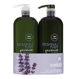 Paul M Tea Tree Lavender Mint Shampoo & Conditioner Duo 33.8
