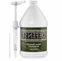 Defense Soap Peppermint Body Wash Shower Gel 1 Gallon