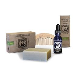 Peppermint Tea Tree Beard Oil Beard Grooming Kit for Home &