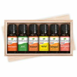 Plant Therapy FRUITS- 6 Essential Oil Sampler Set. Includes