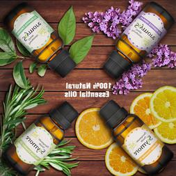 Plant Therapy Top 6 Organic Essential Aromatherapy Oils Set