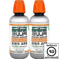 TheraBreath Plus Professional Formula Fresh Breath Oral Rins