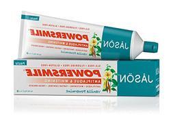 JASON Powersmile Whitening Fluoride-Free Toothpaste, Vanilla