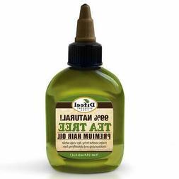 Difeel Premium Natural Hair Oil- Tea Tree Oil- Dry Scalp 2.5