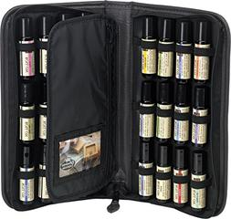 Essential Oil Roll On Presentation and Carry Case 24-Bottle