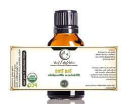 Pure and Natural Certified Organic Tea Tree Essential Oil