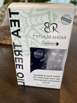Radha Tea Tree Oil 100% Pure Tea Tree Essential Oil Therapeu