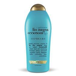OGX Renewing Moroccan Argan Oil Shampoo, 25.4 Ounce Bottle,