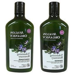 Avalon Organics Rosemary Volumizing Shampoo & Conditioner, 1