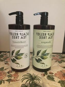 Pharm To Table SCALP RELIEF TEA TREE Shampoo & Conditioner S