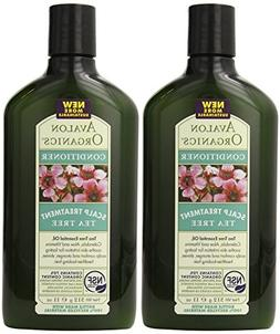 Avalon Organics Scalp Treatment Tea Tree Conditioner, 11 Oun