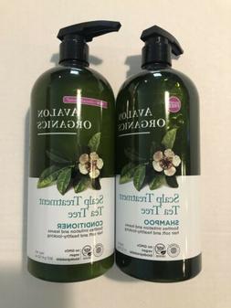 Avalon Organics Scalp Treatment Tea Tree Shampoo & Condition