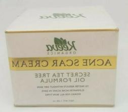 Keeva Organics  Scar Acne Cream Tea Tree Oil Scars -